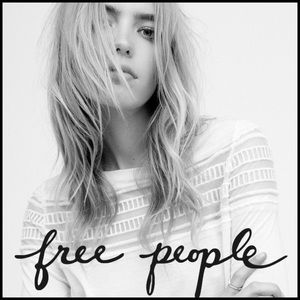 NWT Free People White Roxie Tee